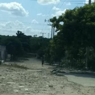 En este sector del barrio Villa Selene se registró el hecho. | Al Día