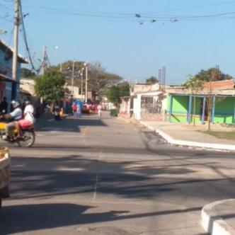 La calle de Rebolo en donde se registraron los hechos.   Johny Olivares