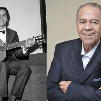 Imagen juvenil de Lucho Gatica, el cantante tenía 90 años y vivía en México.