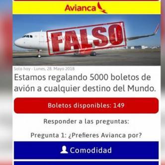 La aerolínea afirma que la cadena es falsa. | Al Día