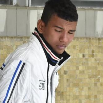 Andrés Felipe Ceballo Bolaño, de 18 años, capturado.