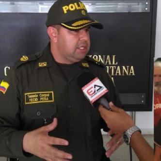 Yecid Peña, comandante operativo de la Policía Metropolitana de Barranquilla. | Al Día