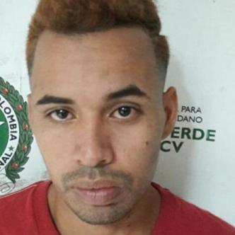 Armando Flórez Alvarino, capturado. | Archivo
