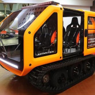 Antarctica, vehículo 100% eléctrico. | AFP