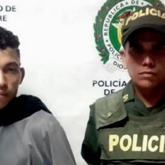 Eduardo Luis Santos Borja, capturado por la Policía | Cortesía