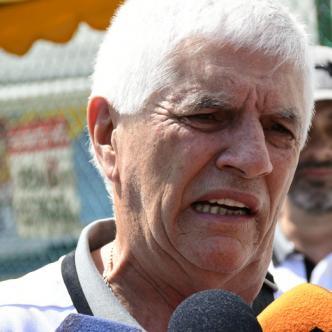 Julio Comesaña habló ayer con los medios de comunicación en el aeropuerto Ernesto Cortissoz, procedente de Bogotá junto a la plantilla de Junior.
