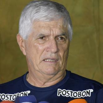 Comesaña habló ayer con los medios de comunicación en Adelita de Char luego de finalizada la práctica del equipo Rojiblanco.