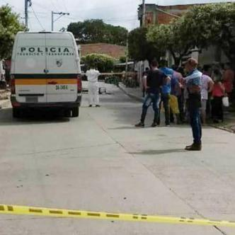 La masacre ocurrió en el barrio Paraguay, donde las víctimas se encontraban sentadas en la terraza de una casa. | Imagen de referencia