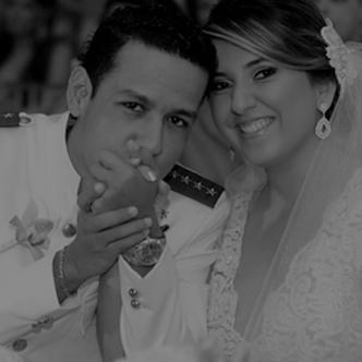 Dayana Jaimes y Martín Elías el día de su matrimonio | Portal Vallenato