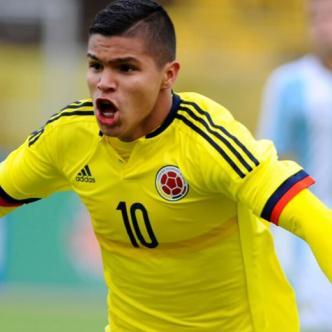 Juan Camilo 'Cucho' Hernández es una de las figuras del equipo colombiano que es comandado por el DT samario Arturo Reyes.