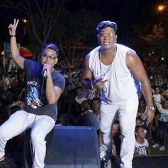 Erwin Espelucao y Deivi Rap fueron bautizados como Los Desordenados de la Champeta, debido a su gran exhibición de talento en la tarima.