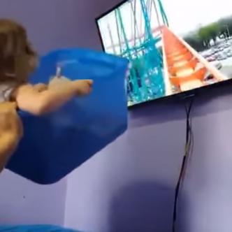La pequeña no dejaba de reir   Captura de pantalla