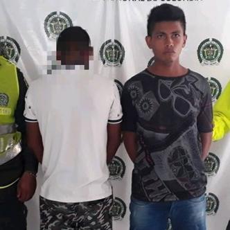 Luis David Díaz Granados, de 23 años, y un joven de 21, fueron enviados a centros de detención por acceso carnal. | AL DÍA
