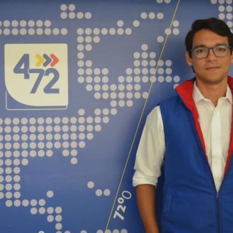 Miguel Gómez indicó que 4-72 es un correo postal barato, que busca accequibilidad a las personas.   Al Día
