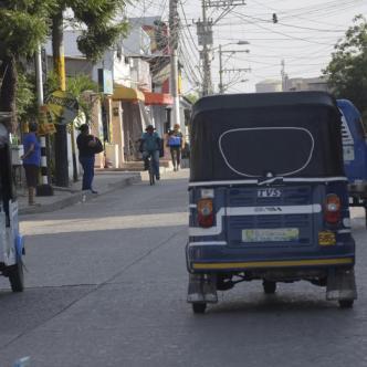 El gremio de motocarristas denunció que el Tránsito de Soledad no hace pedagogía.