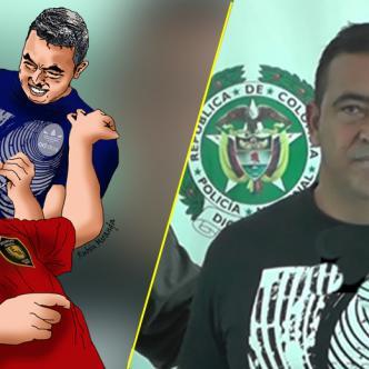 Tomas Manuel Maldonado Cera, alias 'Satánico'. | Foto ilustración