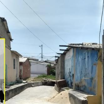 En esta calle del barrio VIsta Hermosa ocurrió la balacera que le costó la vida a Junín Alberto Domínguez (recuadro). | Al Día