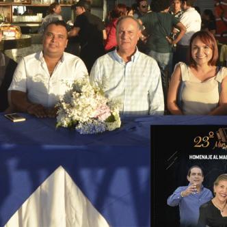 El lanzamiento de la edición 23 del Mar de Acordeones se cumplió en Santa Marta.