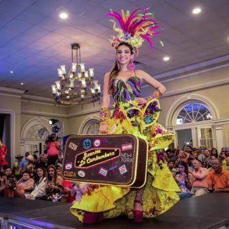 Carolina Segebre, reina del Carnaval 2019, representará el tema 'Volvio Juanita'.Carolina Segebre, reina del Carnaval 2019, representará el tema 'Volvio Juanita'.