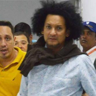 Hermanos Juan Carlos y Otto Jesús Vásquez Soto, señalados como cómplices del millonario robo.