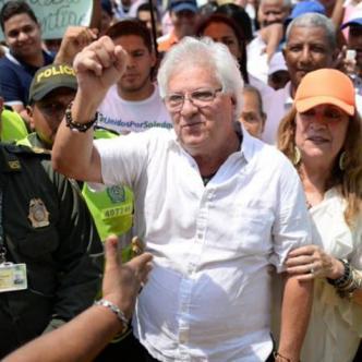 Joao Herrera, alcalde de Soledad. Archivo