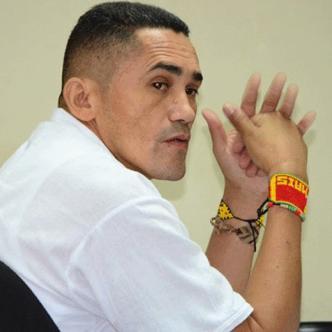 Walter Arias se encuentra detenido en la Cárcel Modelo de Bogotá. | Archivo particular