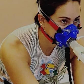 La mononucleosis le generó a la 'Reina del BMX' hemorragias nasales, dolor de cabeza, fatiga, ganglios inflamados, entre otros síntomas. | Instagram