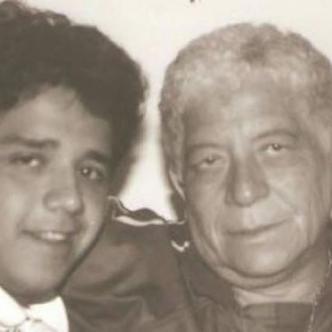 Fabio Poveda Ruiz y Fabio Poveda Márquez. Padre e hijo disfrutando de un momento juntos.   Al Día