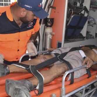 Ludin Henao falleció en una clínica de Santa Marta después de ser atropellado por una 'mula' en el oriente de Santa Marta.