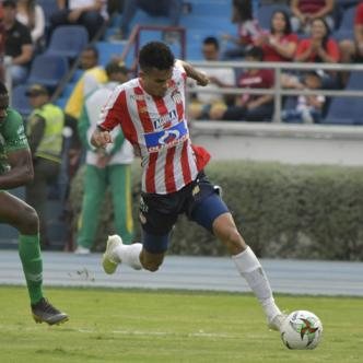 Luis Díaz, delantero guajiro de Junior.