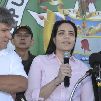 La empresaria Melissa Martínez García agradeció el trabajo hecho por el Gaula de la Policía para lograr su liberación.