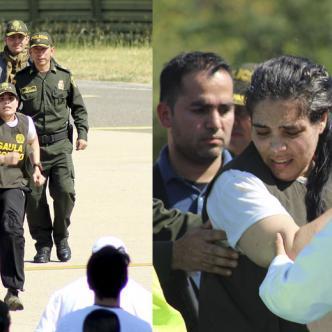 La empresaria bananera Melissa Martínez García fue rescatada en la madrugada de ayer por miembros del Gaula de la Policía Nacional, quienes llegaron hasta el corregimiento de Palmor, en la Sierra Nevada de Santa Marta, para lograr su liberación.