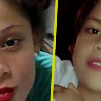 María Camila y María Valentina Lara Baza, hermanas desaparecidas. | AL DÍA