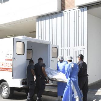 El cuerpo de Wilman fue llevado hasta la Clínica Madre Bernarda, donde los médicos reportaron su deceso.