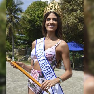La Señorita Colombia tiene 23 años y es abogada.
