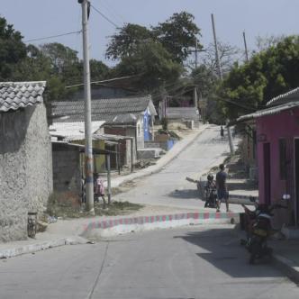 El asesinato de José Taguada Torres ocurrió a las 10:10 de la noche del sábado en la diagonal 64 con carrera 9D, El Bosque.   AL DÍA