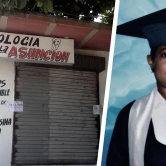 Paulina Belén Guerra Almeida, de 23 años, de Algarrobo, fue a este consultorio por un dolor de muela y halló la muerte | José Puente Sobrino