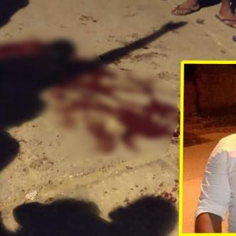 Jorge Junior Rodríguez González, asesinado de un tiro en el pecho.