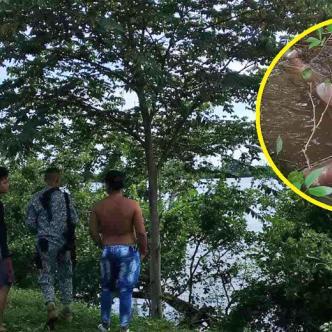 El cuerpo de la mujer encontrada, estaba desnudo y en avanzado estado de descomposición. Presentaba golpes y laceraciones producto de su travesía por el río Magdalena.