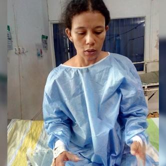 Las profundas heridas de Rivera Martínez fueron suturadas. | Al Día