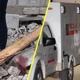 Agentes del Cuerpo Técnico de Investigación de la Fiscalía realizaron la inspección del cadáver.