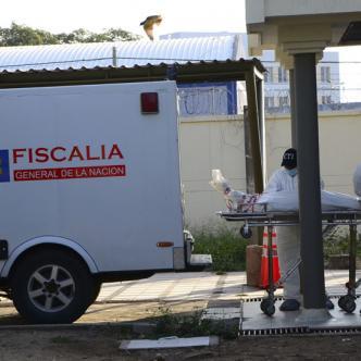 El cuerpo del menor fue trasladado a Medicina Legal en Valledupar.