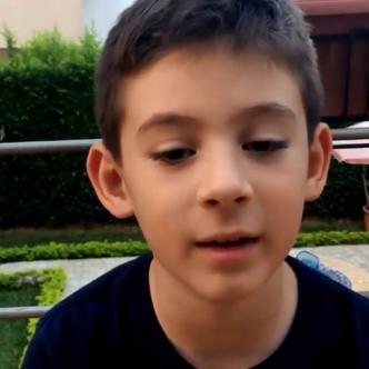 Federico García Villegas, un caleño de 8 años que padece Asperger    Captura de pantalla