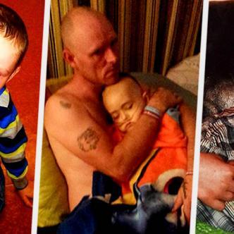 Un año después de la muerte del pequeño, sus padres decidieron compartir las imágenes | Daily Mail