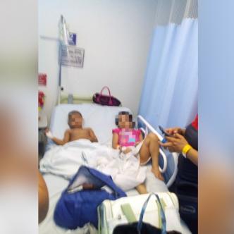 Los afectados son 15 menores de cinco hogares infantiles del ICBF en el barrio Villa Corelca.