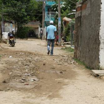 Calles del barrio Nuevo Paraíso.