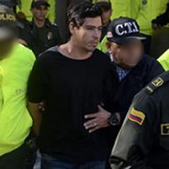 Cristian Camilo Bellón a su salida del Centro de Servicios Judiciales de B/quilla    Luis Felipe De la Hoz