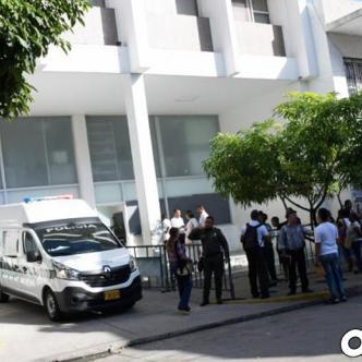 Fachada de la URI (Unidad de Reacción inmediata) donde la menor de 17 años interpuso la denuncia.