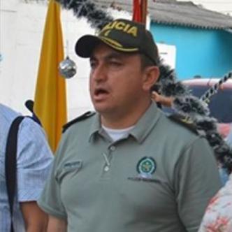 Mayor Hermes Arellano Chamorro, exjefe de la Policía en Soledad y Malambo, capturado.