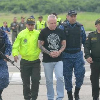 John Jairo Velásquez Vásquez, alias Popeye, llega a la cárcel la Tramacúa, de Valledupar. | Al Día